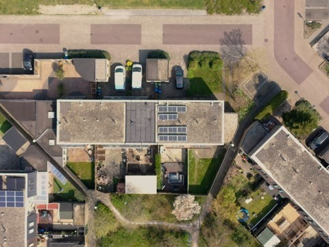 Lelystad Hallo Stroom dag naakte daken